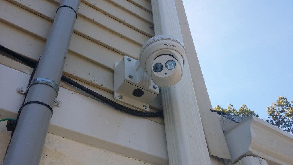 Wall Mounted Outdoor Cctv Ip Camera Security Alarm Cctv