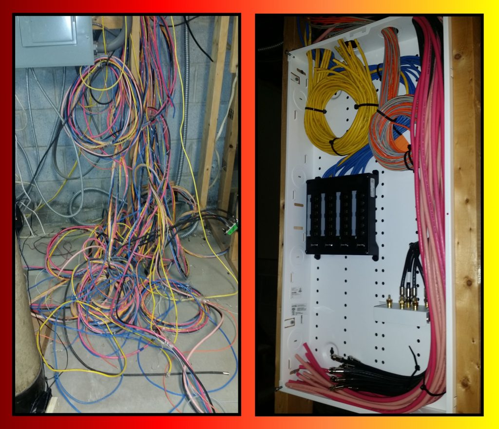 Structured Cabling    Wiring Closet Clean Up  U2022 Security